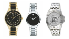Movado ESQ Pedre Watches