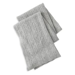 Cashmere Counter - Cashmere Blanket - Gray