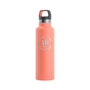 RTIC 20oz Ringed Coral Stainless Steel Water Bottle