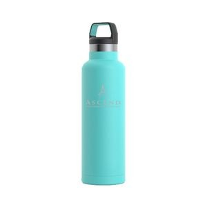 RTIC 20oz Ringed Teal Stainless Steel Water Bottle