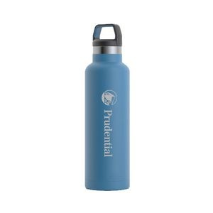 RTIC 20oz Ringed Slate Blue Stainless Steel Water Bottle