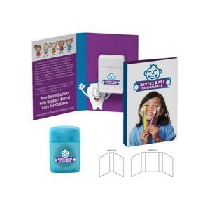 Booklet with Traditional Rectangular Shaped Dental Floss